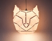 Cat Large - do it yourself paper lampshade - mostlikelyShop