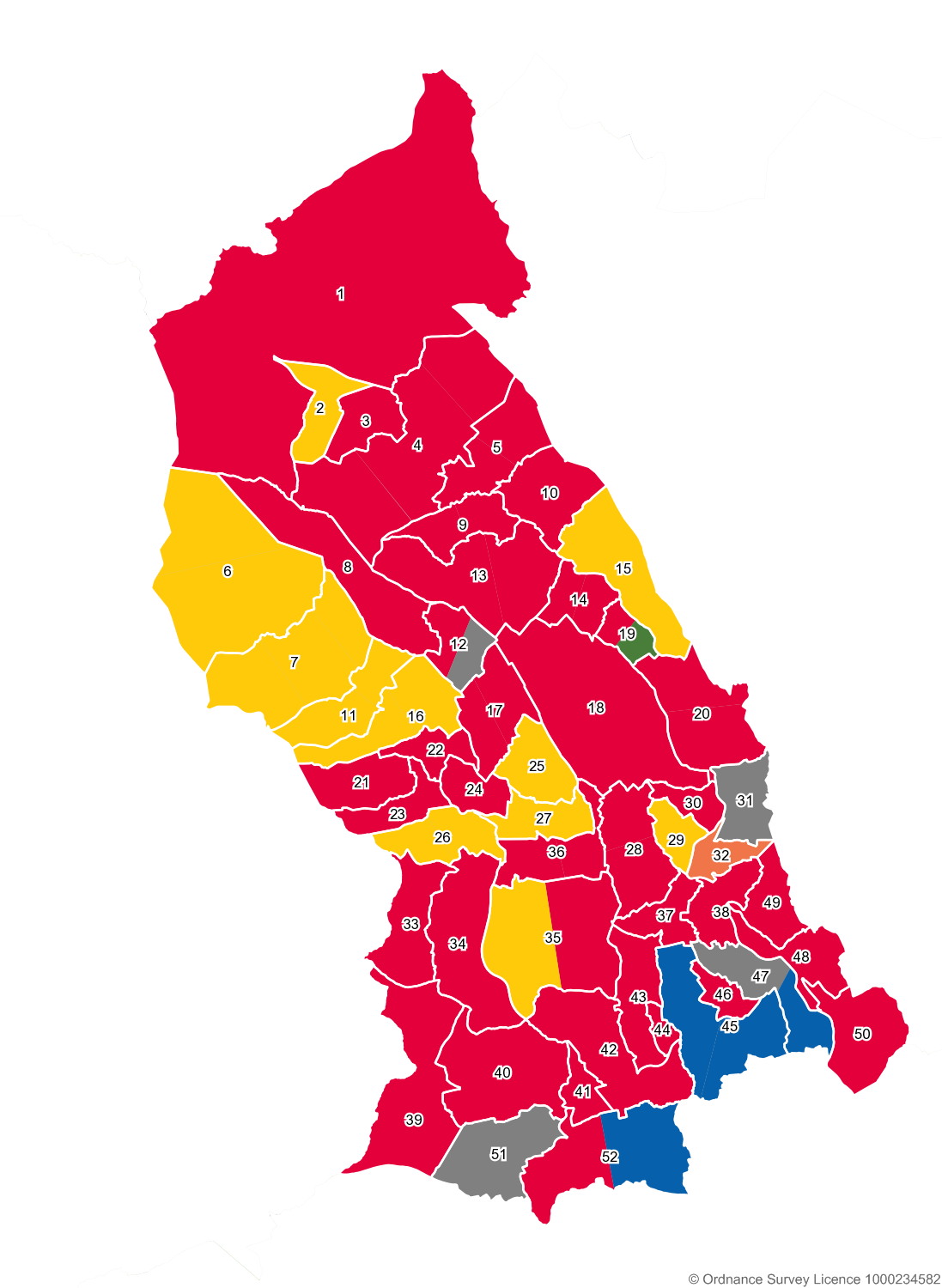 RCT Election Map 2017