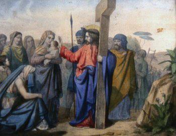 OCTAVA ESTACIÓN Jesús encuentra a las mujeres de Jerusalén que lloran por él