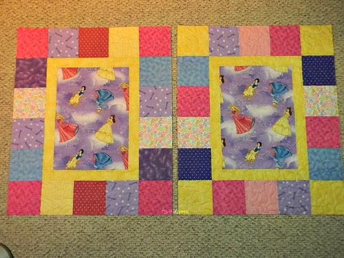 2 Princess quilts