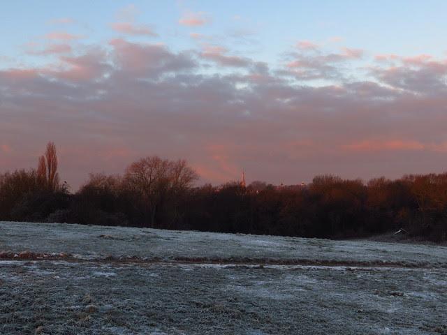 Hampstead Heath at Sunrise