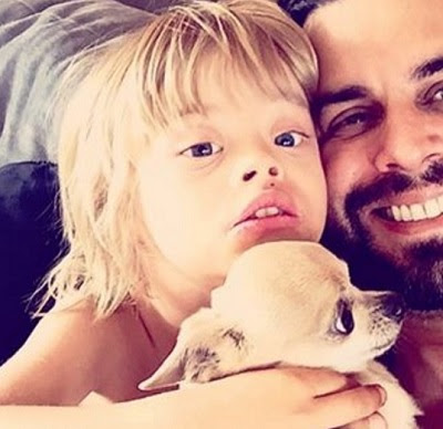 Filhos com deficiência/ Marco Tulio (Foto: Reprodução/Instagram)