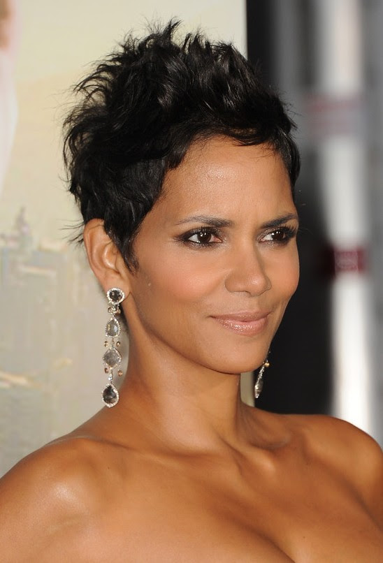 Halle Berry Hairstyl
