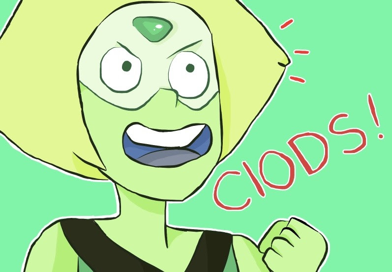 oh look peridot :P i love drawing her, she's one of my favorite gems