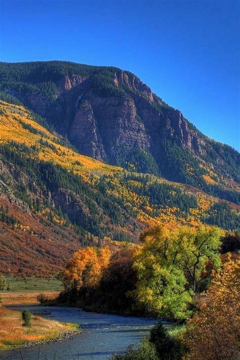 Autumn in a river valley wallpaper   AllWallpaper.in #6555