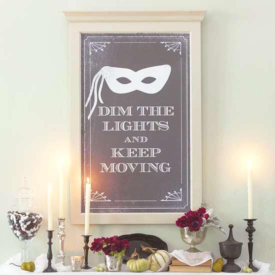 Elegant Halloween Party Poster