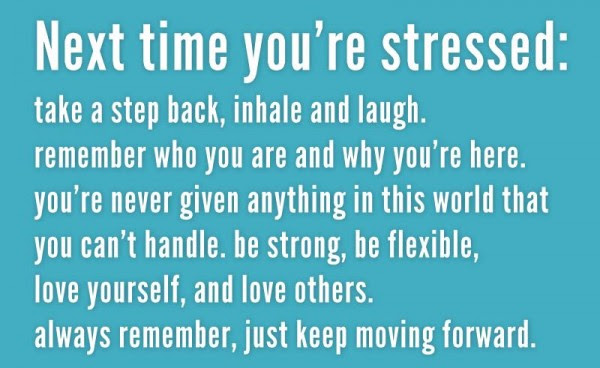 Next Time Youre Stressed Take A Step Back Inhale And Laugh