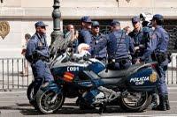 Motorbikes of the Cuerpo Nacional de Policía