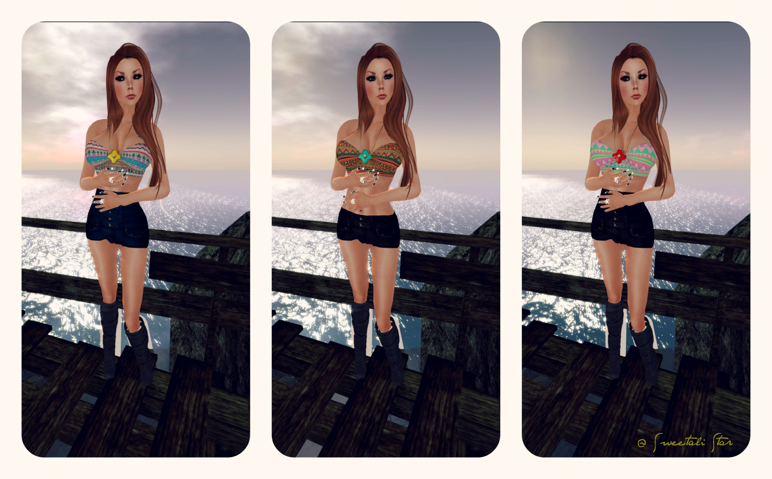 .::Pink Sugah::. Teenage icon - Tribal - Going Bust  feat 7 deadly skins - Myrthe V1