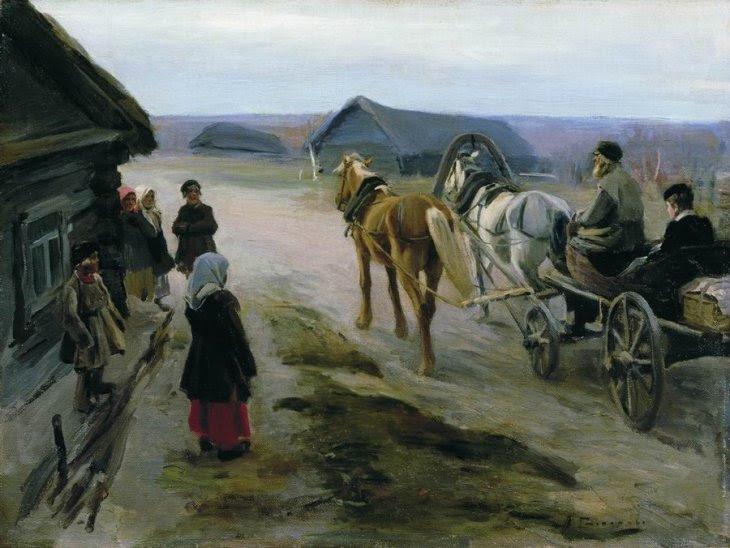 Η άφιξη του Δασκάλου -Alexei Stepanov - 1889
