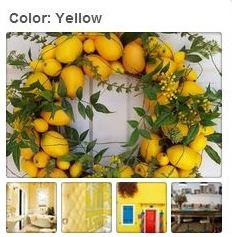Avente Tile's Yellow Pinterest Board