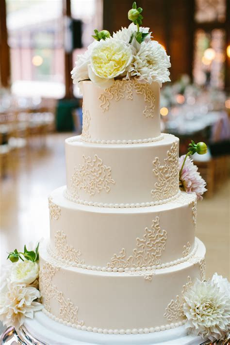 Simple Round Wedding Cake   Elizabeth Anne Designs: The