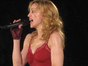 Madonna at her 'Confessions' Tour at Wembley A...