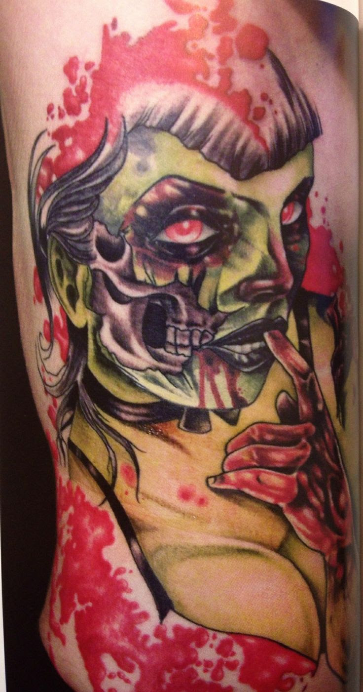 Zombie Pin Up Girl Tattoo Meaning Traffic Club
