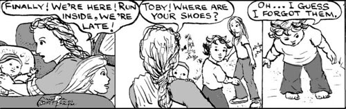 Home Spun comic strip #139