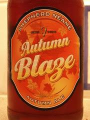 52 beers 4 - 11, Shepherd Neame, Autumn Blaze, England