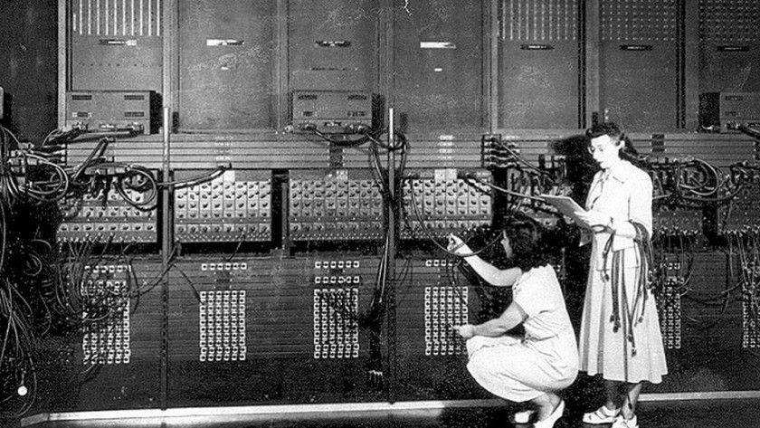 Así de impresionante era 1 byte de RAM en 1946