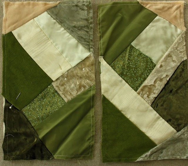Shades of Green CQ Blocks WIP