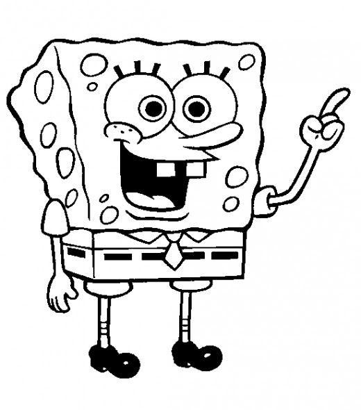 Here are some Spongebob Squarepabts Coloring Pages for children which I