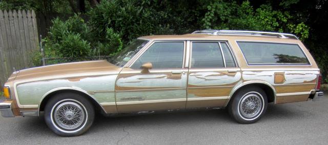 1986 Pontiac Safari Parisienne Station Wagon Made In Canada Parts Auto For Sale Photos Technical Specifications Description