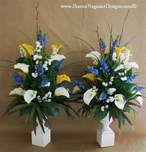 Tall, Altar arrangement, Real by Sharon Nagassar Designs