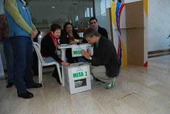 Día de las elecciones con Mockus Presidente