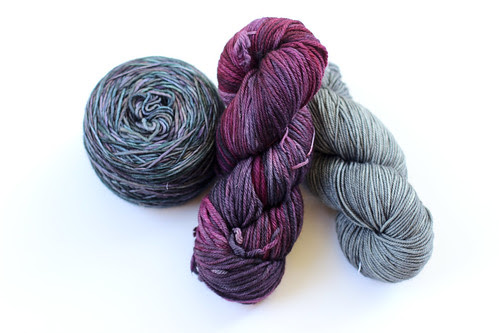 Yarns from Blazing Needles by Jeni Baker