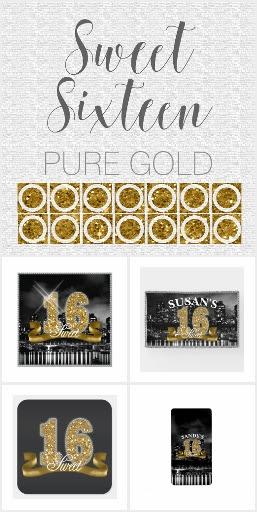 Pure Gold Sweet Sixteen