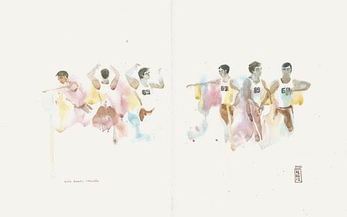 Elvis dances Batucada