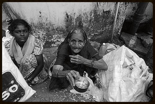 Mother And Daughter Of Aam Admi ,,, Begging On The Streets by firoze shakir photographerno1