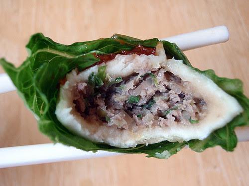 Bulgogi dumpling wrap