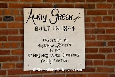 Aunty Green Hotel, Built 1844, Bonaparte, Iowa