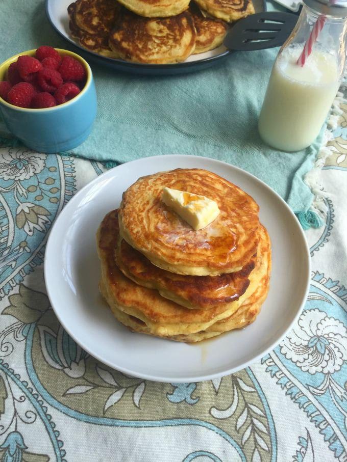 Tenderest Cardamom Pancakes | A Cedar Spoon