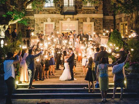 Elegant Graydon Hall Manor Wedding with Sparklers