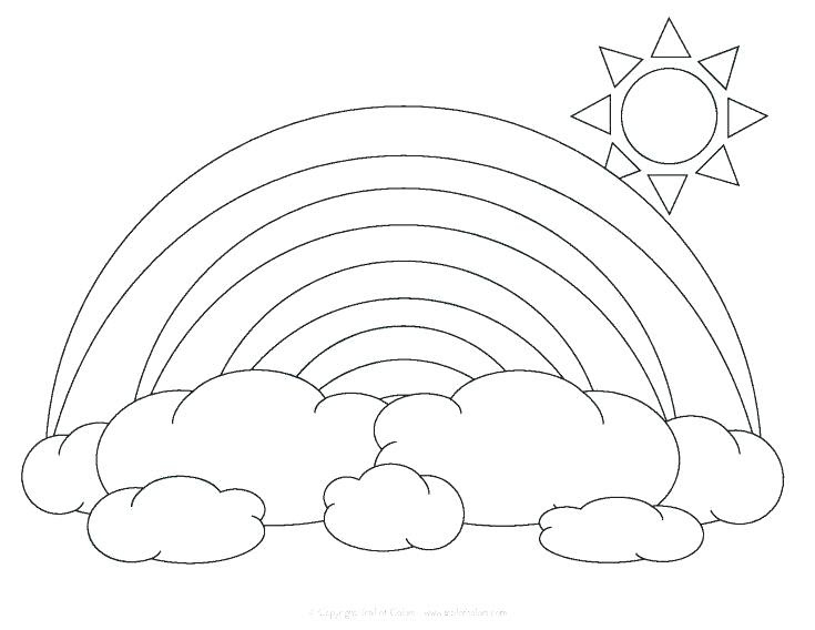 Rainbow Drawing For Kids at GetDrawings | Free download