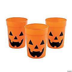 Jack-O'-Lantern Cups