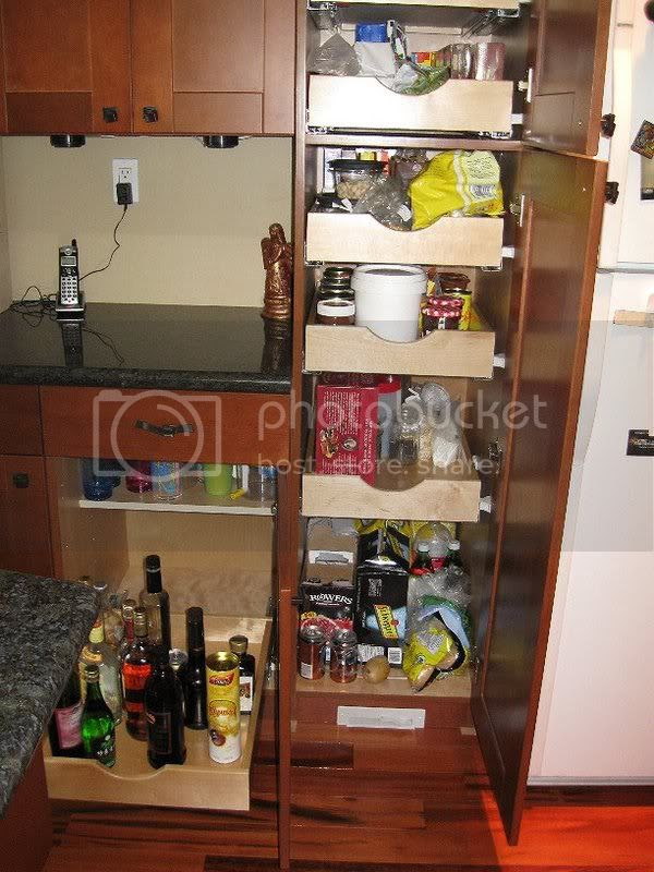 18' pantry cabinet