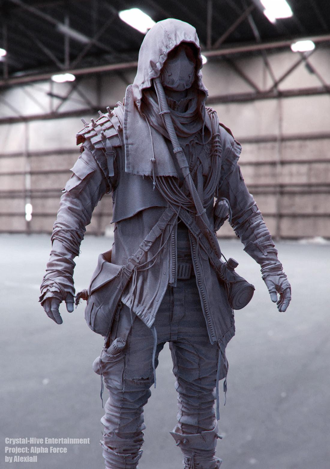 a little piece of universe futuristiccyberpunk fashion v