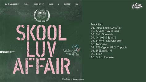 full album bts skool luv affair youtube