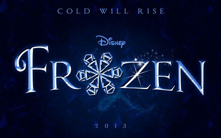 Old Disney Frozen logo. Wowwwwwww look at how gorgeous it was!