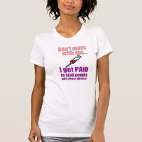 Women's Funny Nurse Shirt