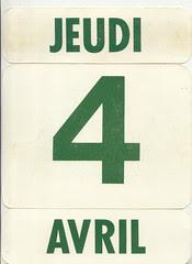 calendrier  4