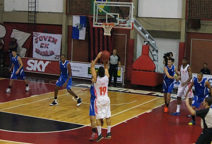 Gegê basquete Flamengo x Minas (Foto: Fabio Leme)