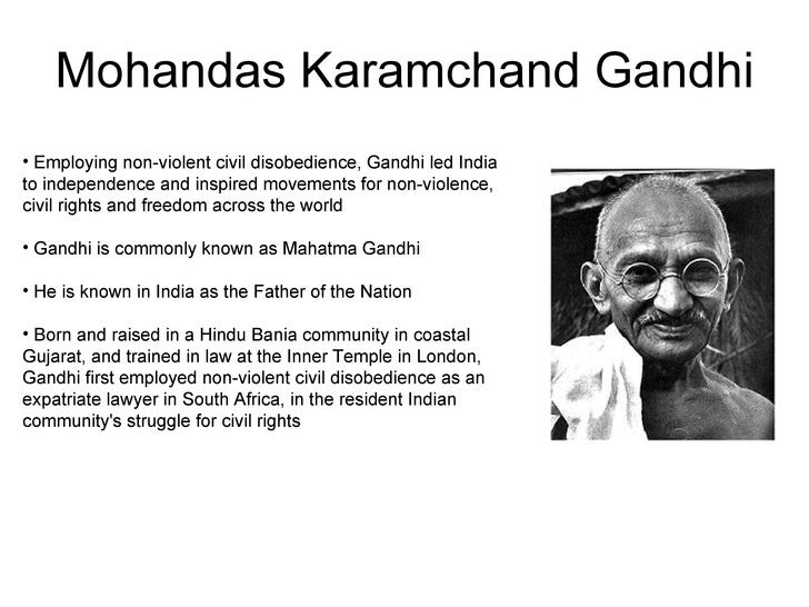Essay Gandhiji English