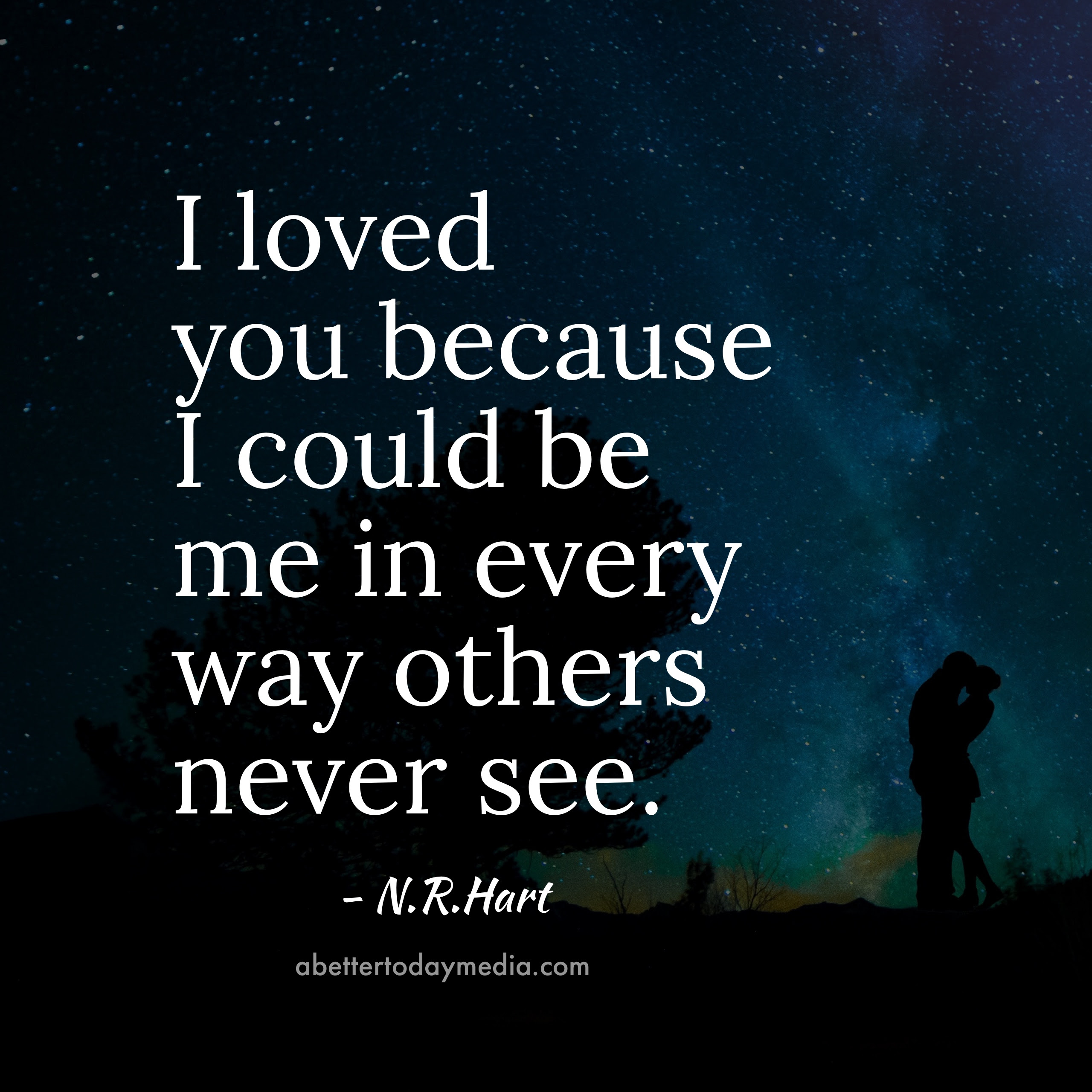 16 Beautiful N R Hart Love Quotes with