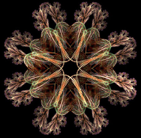 fractal flame pattern