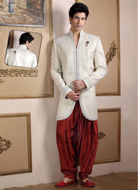 Fascinating Indo Western Sherwani   Indian Wedding Outfit