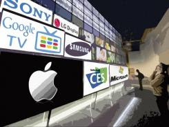 picture ofapple itunes - Apple struggling to make content deals for rumored iTV, says USA Today