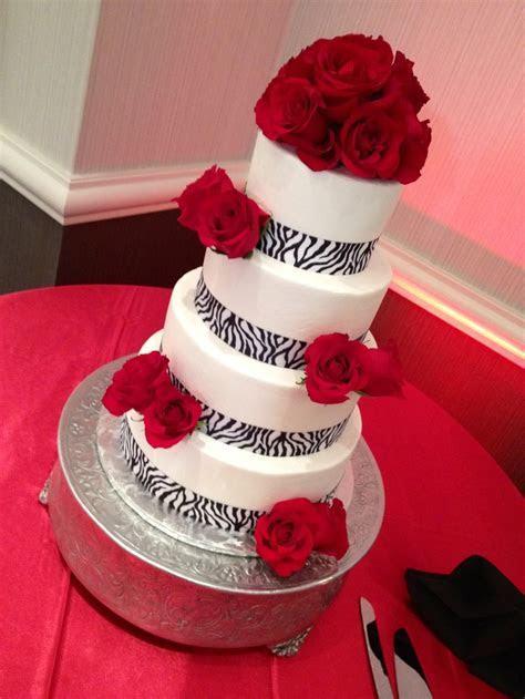Zebra print wedding cake www.annacakes.com   Wedding Cakes