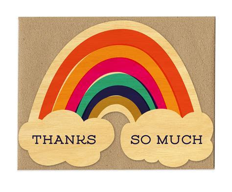 Thanks Rainbow ? Thank You / Gratitude ? Cards « Night Owl